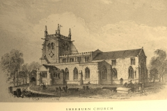 Church postcard