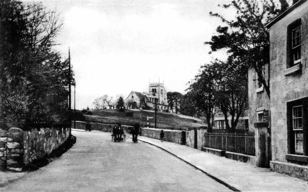 Kirkgate and junction with Sir Johns lane