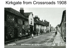 Kirkgate from the Cross 1908