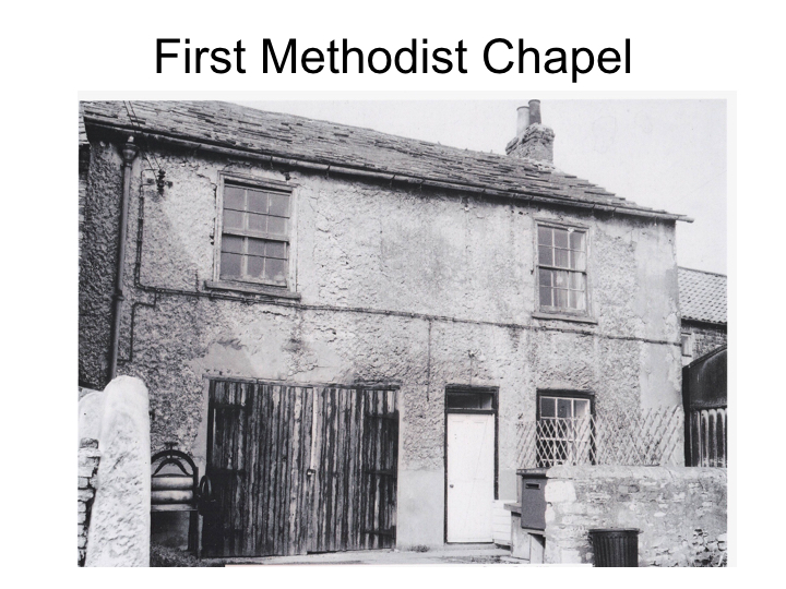 First Methodist Chapel, Chapel Yard