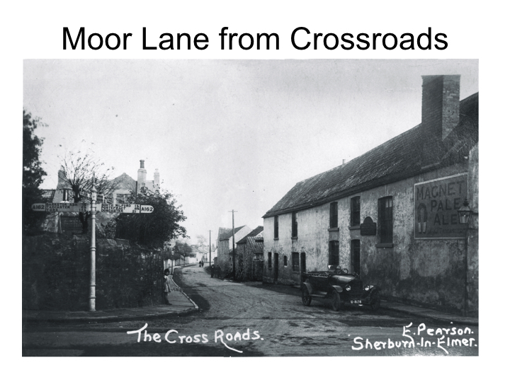 Moor Lane from the Cross